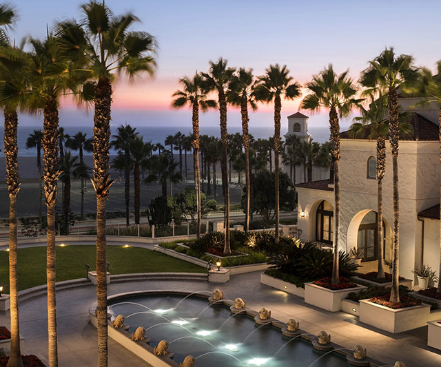 <p>Hyatt Regency Huntington Beach Resort and Spa<br /> 21500 Pacific Coast Hwy<br /> Huntington Beach, CA 92648</p>